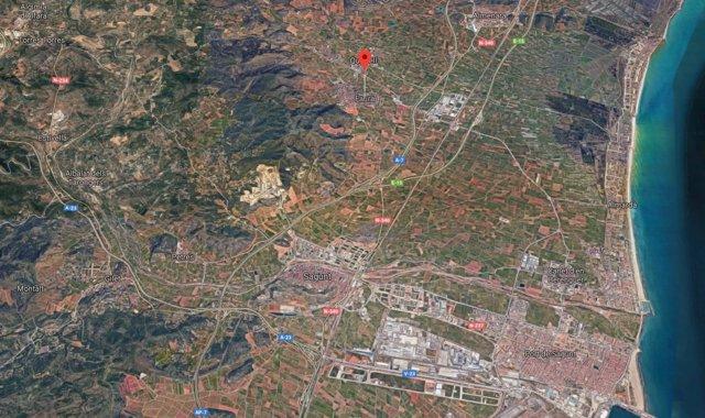 Localización de Faura (Valencia)