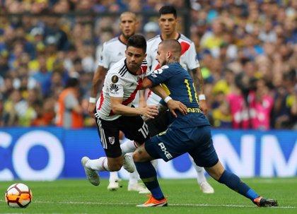 Boca y River empatan en la ida del 'superclásico' por la Copa Libertadores