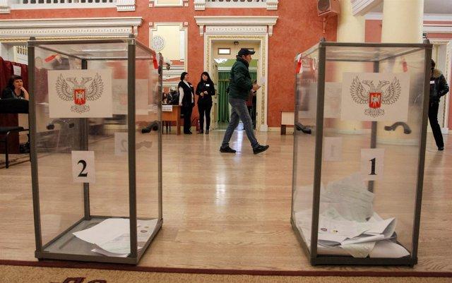 Elecciones en la autoproclamada república de Donetsk