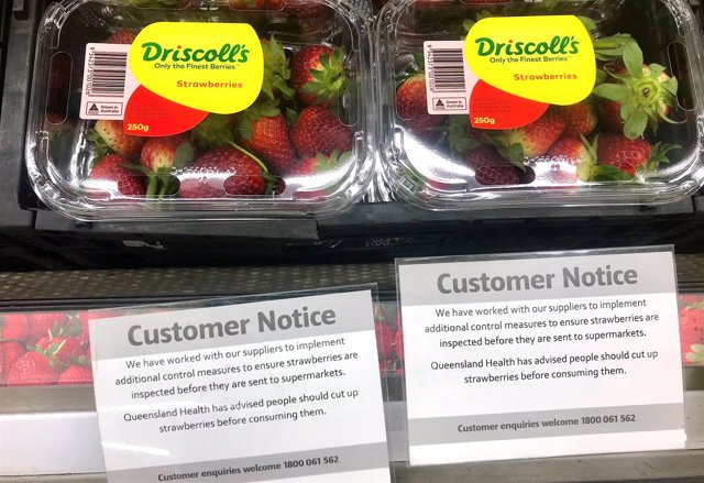 Mensajes de aviso para los clientes de supermercados en Australia