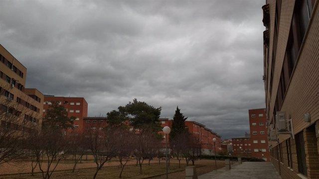 Cielo nublado en Mérida
