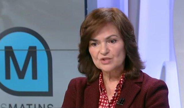 Carmen Calvo en TV3