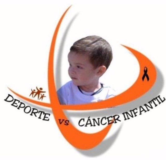 Logo de la asociación 'Deporte Vs Cáncer Infantil'
