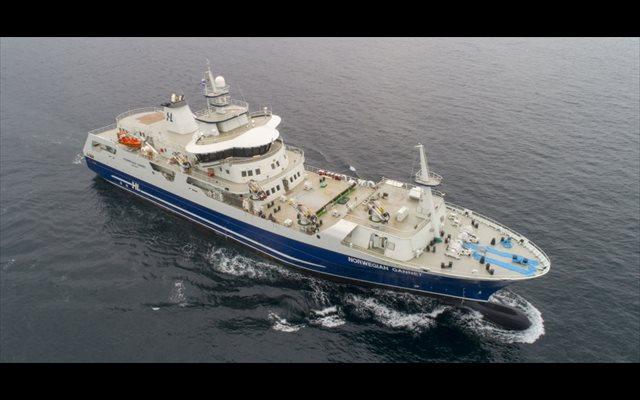 Oliver Design concluye el interior del 'Norwegian Gannet', con capacidad para procesar 150.000 toneladas de pescado