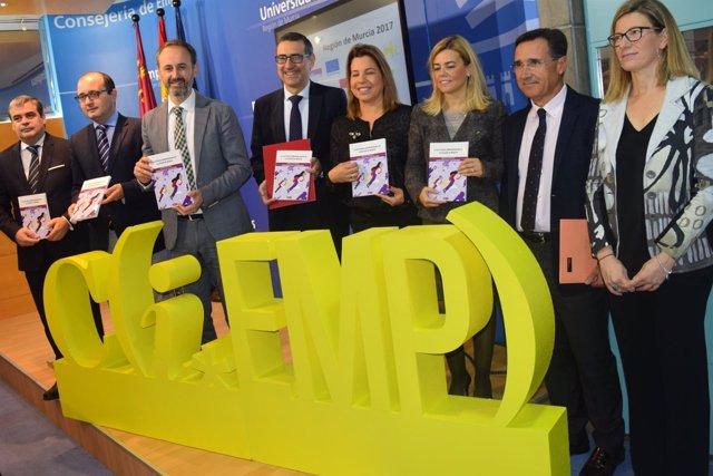 Presentación del Informe GEM sobre emprendimiento en la Región de Murcia