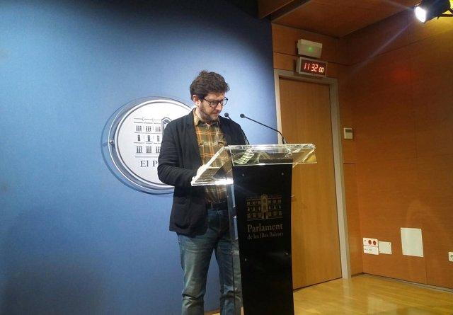 Portavoz de Podemos, Alberto Jarabo