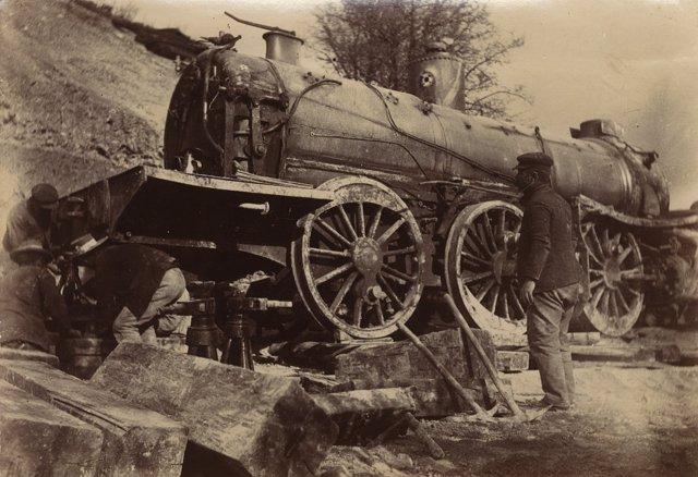 Tren cártama ferrocarril málaga exposición diputación