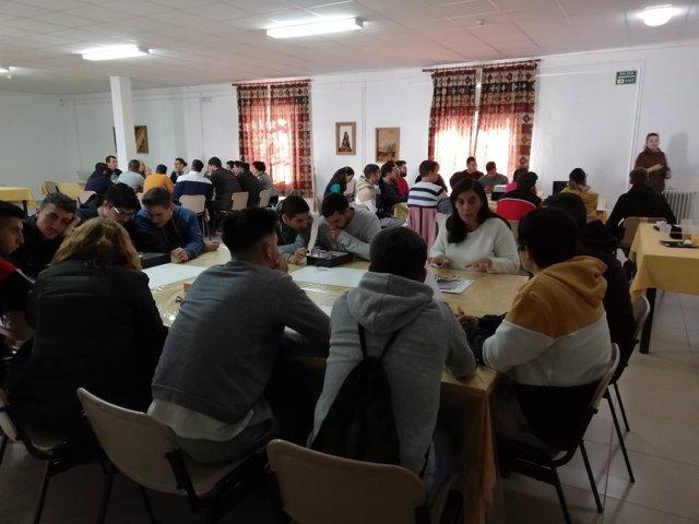 Actividad de la Semana de la Ciencia en Andalucía