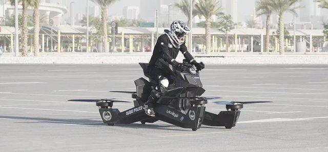 Hoverbike para la Policía de Dubái