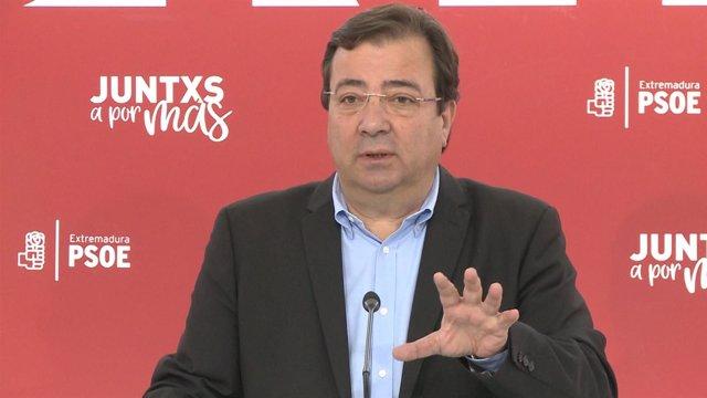 Secretario General del PSOE, Guillermo Fernández Vara