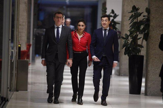 Desayuno-coloquio del candidato del PP a la Junta de Andalucía, Juan Manuel More