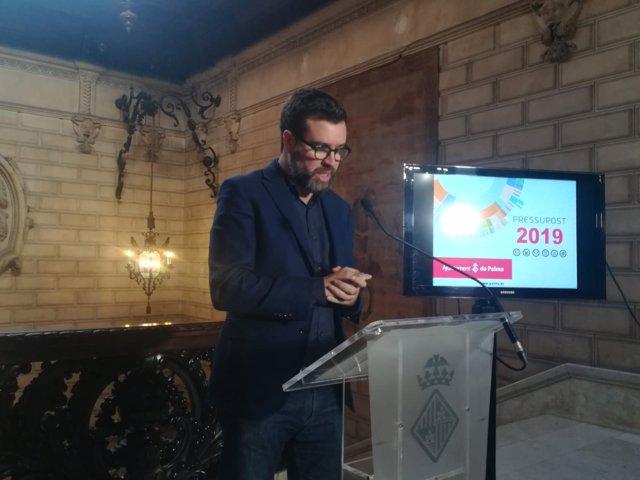 El alcalde Noguera presenta el proyecto de presupuestos de Cort