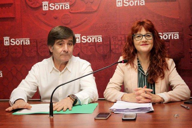 Mariano Tundidor y Ana Calvo.