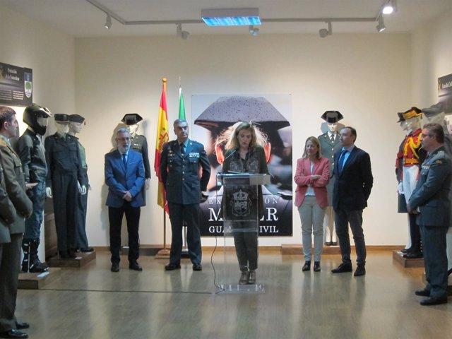 Inauguración de la exposición Mujer yy Guardia Civil
