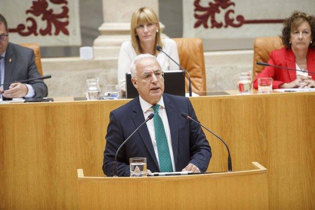 Ceniceros interviene en el Debate sobre el Estado de la Región en el Parlamento