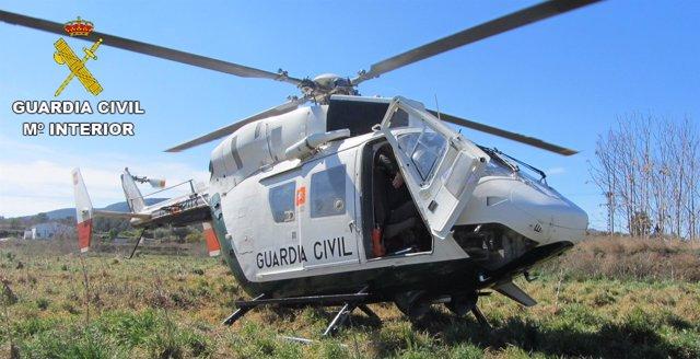 Helicóptero  de la GC