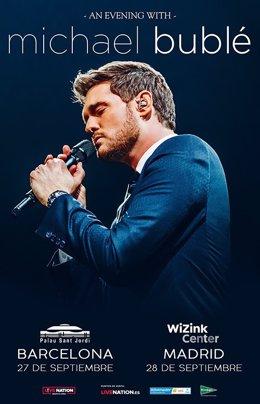 Michael Bublé actuará en el Palau Sant Jordi el 27 de septiembre con 'Love'