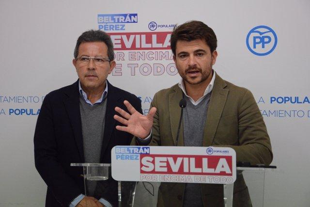 Beltrán Pérez en rueda de prensa