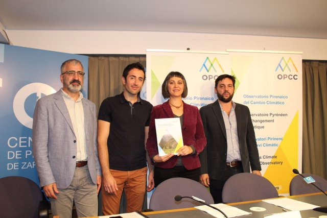 Presentación del informe sobre el cambio climático en los Pirineos.