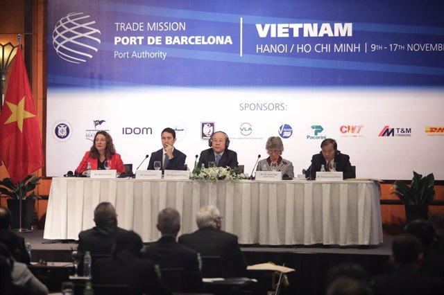 Jornada empresarial del Puerto de Barcelona en Vietnam