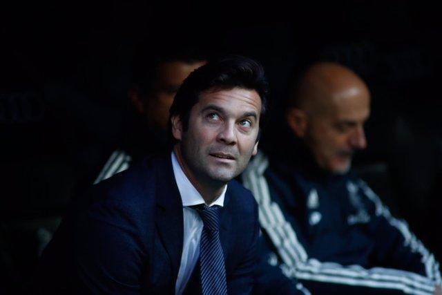 Santiago Solari, entrenador del Real Madrid