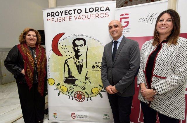 Presentación del Programa Lorca en Fuente Vaqueros