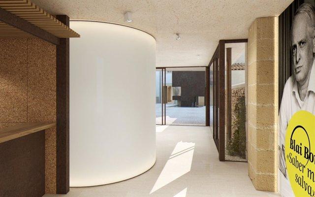 Imagen digital del proyecto para la casa de Blai Bonet en Santanyí