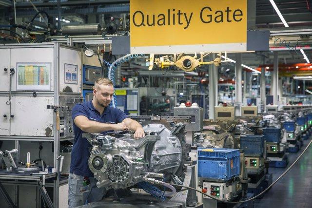Planta de Mercedes-Benz en Gaggenau (Alemania)