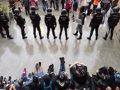 DECLARAN DESDE ESTE MARTES 26 POLICIAS NACIONALES INVESTIGADOS POR CARGAS EL 1-O EN BARCELONA