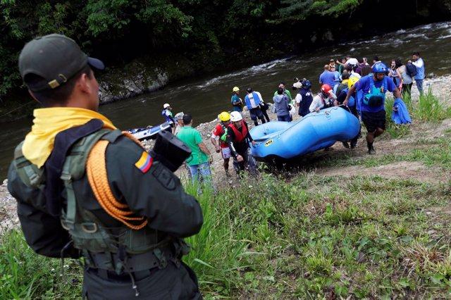 Exmiembros de las FARC lanzan un proyecto turístico en el sur de Colombia