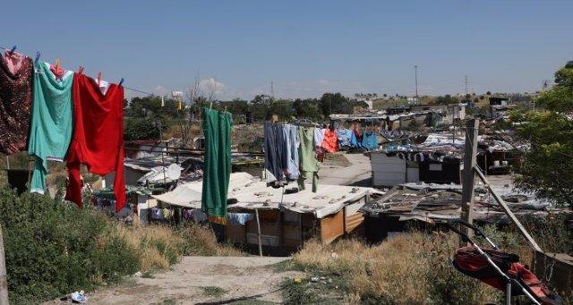 El poblado chabolista de 'El Gallinero'