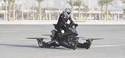 Hoverbike per a la Policia de Dubái