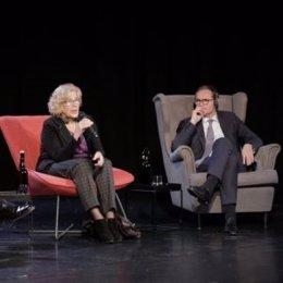 La alcaldesa Manuela Carmena y su homólogo en Berlín Michael Müller