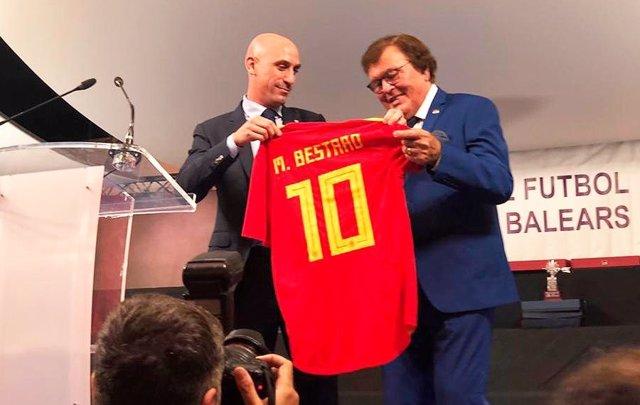 Luis Rubiales RFEF Miquel Bestard
