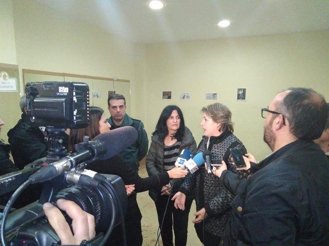 La alcaldesa de Guadix (Granada), Inmaculada Olea Laguna