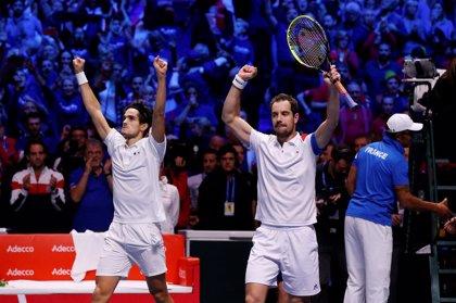 Gasquet se queda fuera del equipo francés para la final de la Copa Davis
