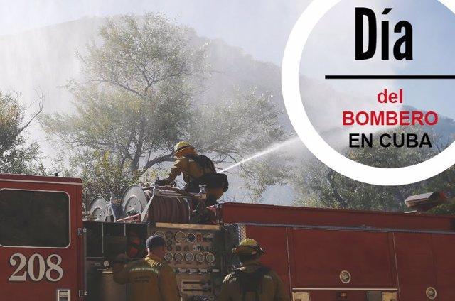 Día del bombero en cuba