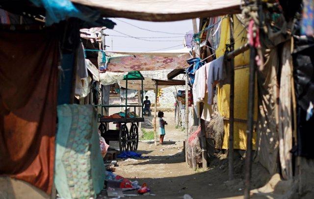 Refugiados rohingya en Nueva Delhi
