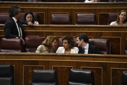Montserrat destaca la figura política de Cospedal y niega que el PP le haya tratado de manera injusta