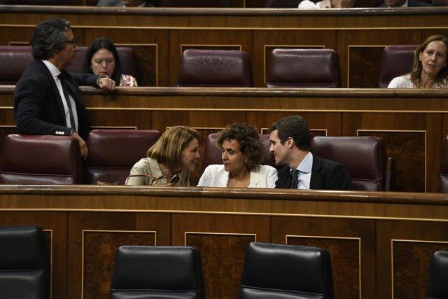 Segunda votación en el Congreso para elegir a Rosa María Mateo como administrado