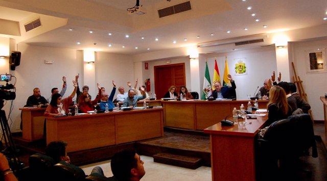 Pleno en el Ayuntamiento de Los Barrios