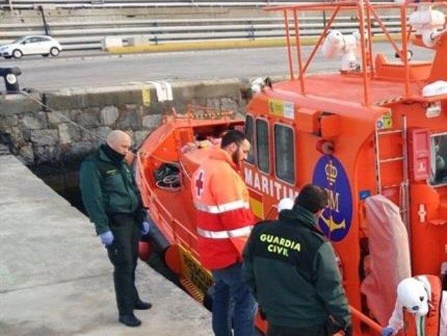 Salvamento y Guardia Civil, en Ceuta