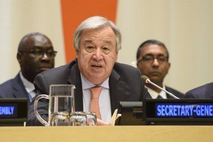 """Guterres insta a la """"máxima contención"""" en la Franja de Gaza tras un intercambio de fuego con Israel"""