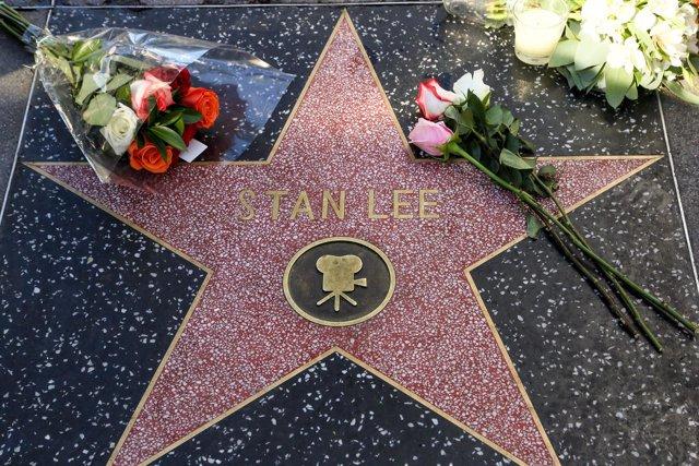 Estrella de Stan Lee en el Paseo de la Fama