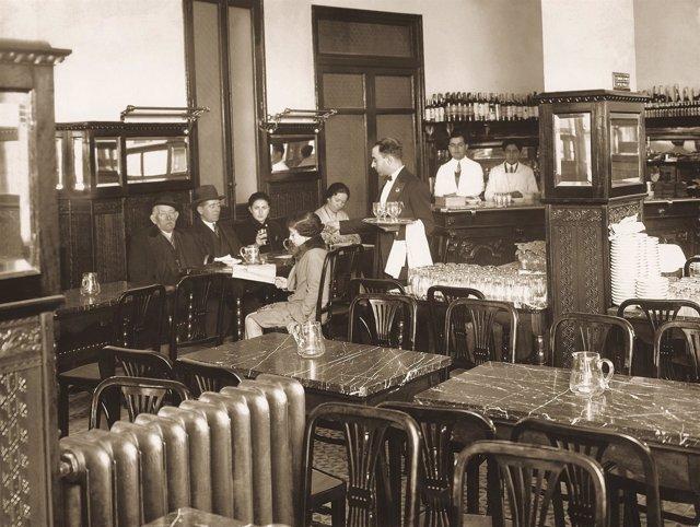 Café Viena en los años 20