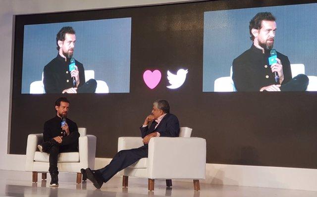 Jack Dorsey, CEO Twitter en India
