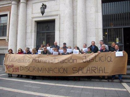 Paro casi mayoritario de los letrados judiciales en Valladolid