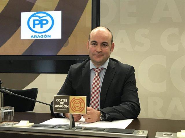 Fernando Galve, diputado del PP