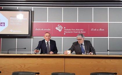 El proyecto de presupuestos de Álava para 2019 crece un 7,7% y alcanza los 517 millones de euros