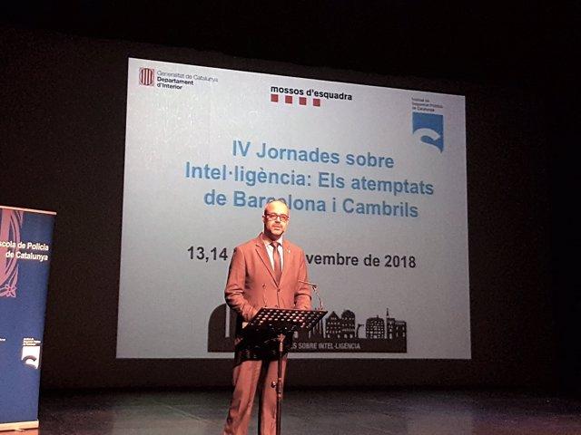 El conseller Miquel Buch abre las 'IV Jornades sobre Intel·ligència'